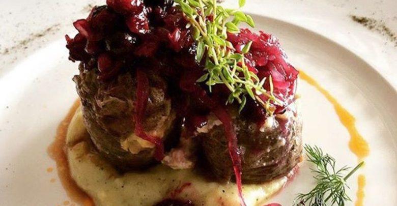 Receta de Solomillo de cerdo son salsa de frutos rojos 1