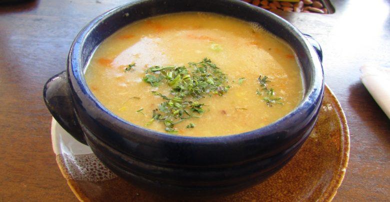 Receta de Sopa de avena 1
