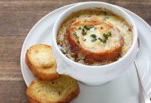 Photo of Receta de Sopa de cebolla al microondas fácil