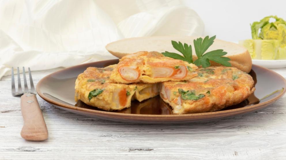 Receta de tortilla de marisco 1