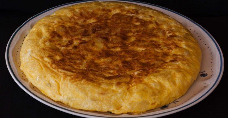 Receta de Tortilla de patatas con sobrasada 1