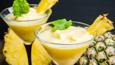 Photo of Receta de batido de leche tropical