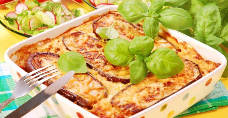 Receta de berenjenas con bechamel y queso 1