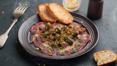 Photo of Receta de carpaccio de ternera con salsa