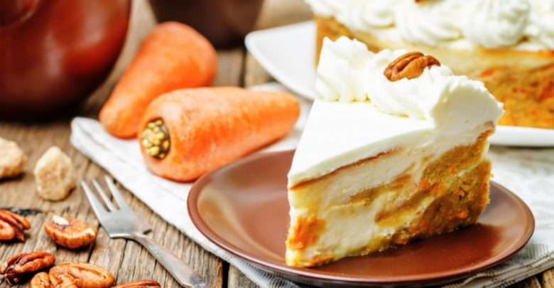 Receta de cheesecake de zanahoria 1