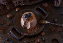 Photo of Receta de Flan de chocolate y galletas al microondas