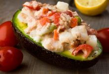 Photo of Receta de Aguacate relleno de ensalada de pollo
