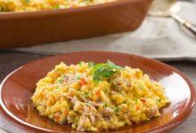 Photo of Receta de Arroz con atún al curry