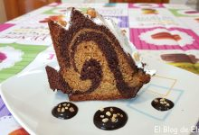 Photo of Receta de Bizcocho marmolado de yogurt y nutella