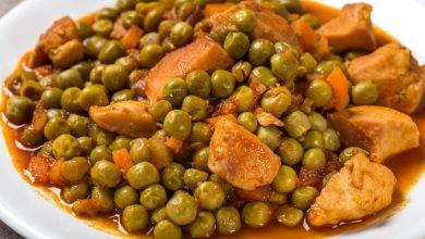 Photo of Receta de Guisantes con hierbabuena y pollo