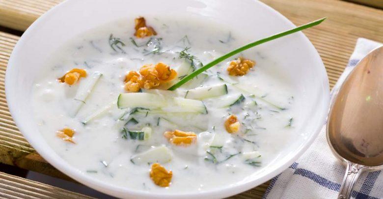 Receta de Tarator (sopa fría de Bulgaria) 1