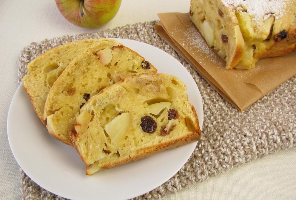 Tarta de manzana y ron