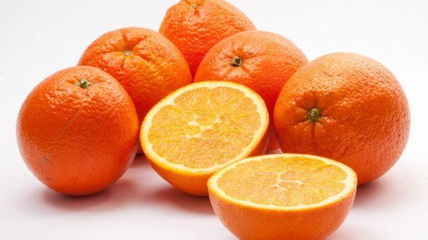 Receta de garbanzos con ensalada de naranja