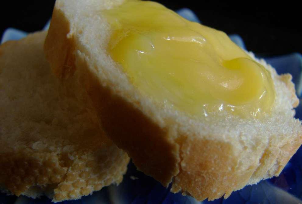 Cuajada de limón