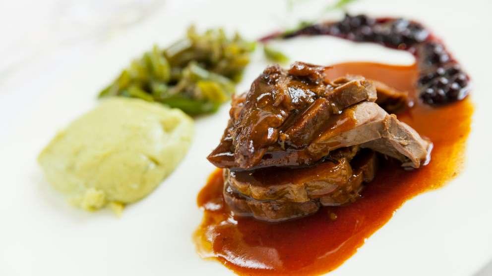 Carne de venado asada