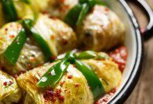 Photo of Receta de hojas de acelgas rellenas de risotto