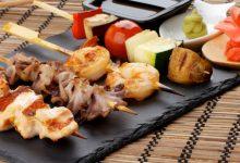 Photo of Receta de brochetas de calamar con verduras