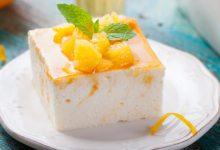 Photo of Receta de tarta mousse de naranja sin horno