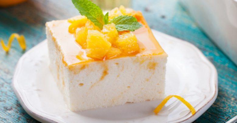 Receta de tarta mousse de naranja sin horno 1