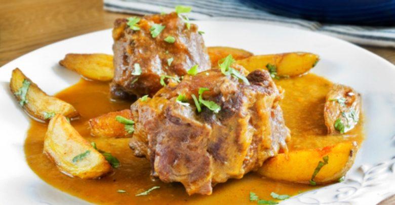 Receta de rabo de toro con peras caramelizadas 1