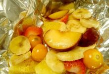 Photo of Receta de fruta en papillote