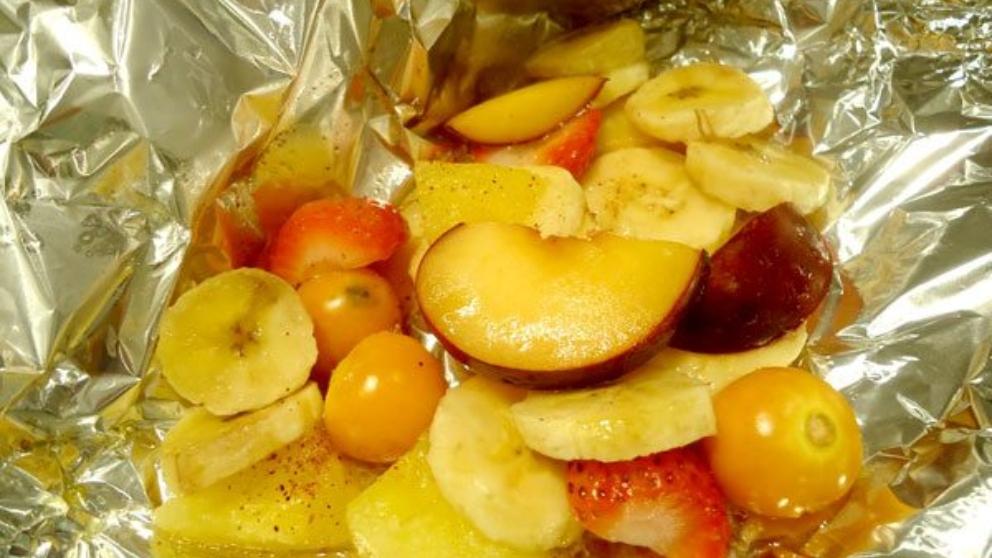 Receta de fruta en papillote 1