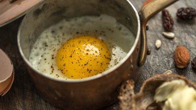 Photo of Receta de Huevos cocotte con queso y frutos secos