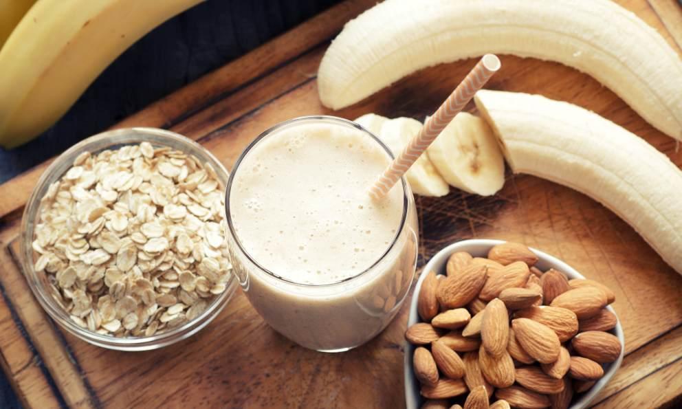 Receta de Smoothie de leche de avena y frutas 1