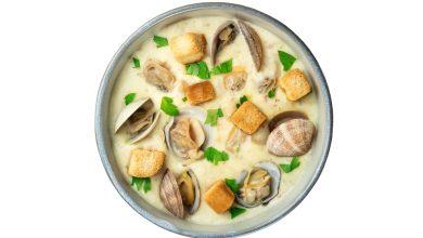 Photo of Receta de Sopa de patatas y almejas