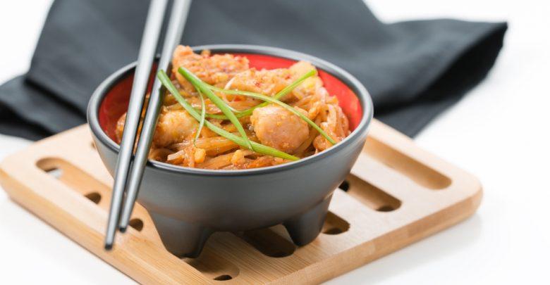 Receta Pad thai de pollo 1