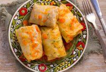 Photo of Receta de rollitos de col rellenos de bacalao