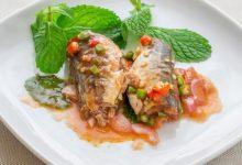 Photo of Receta de sardinas rellenas de sanfaina con tomates al horno