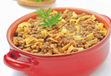 Photo of Receta de Sopa de lentejas con pasta