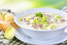 Photo of Receta de sopa de puerros con carne picada