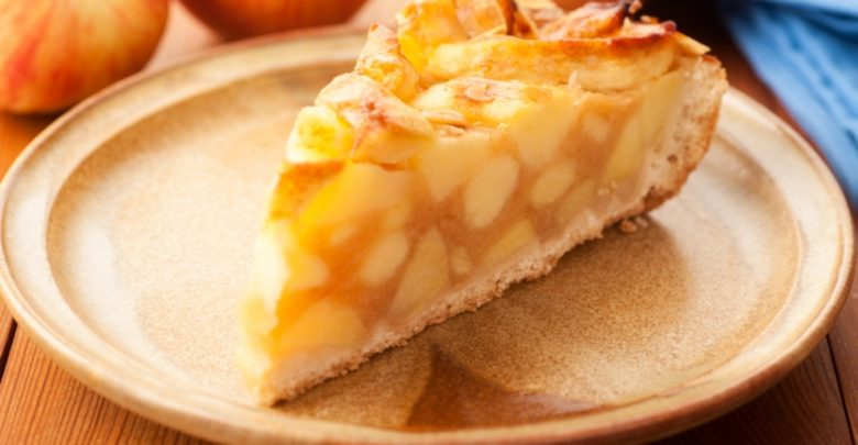 Receta de tarta de manzana con crema pastelera 1
