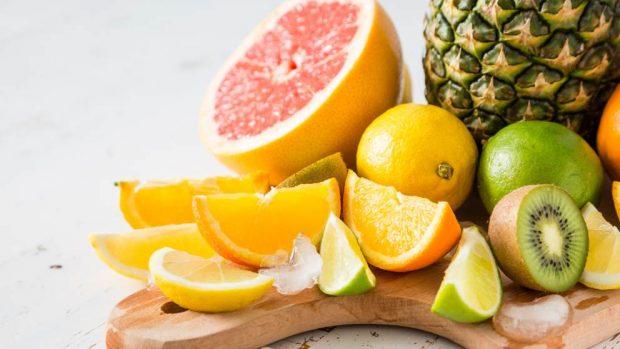 Flan de gelatina de limón y piña