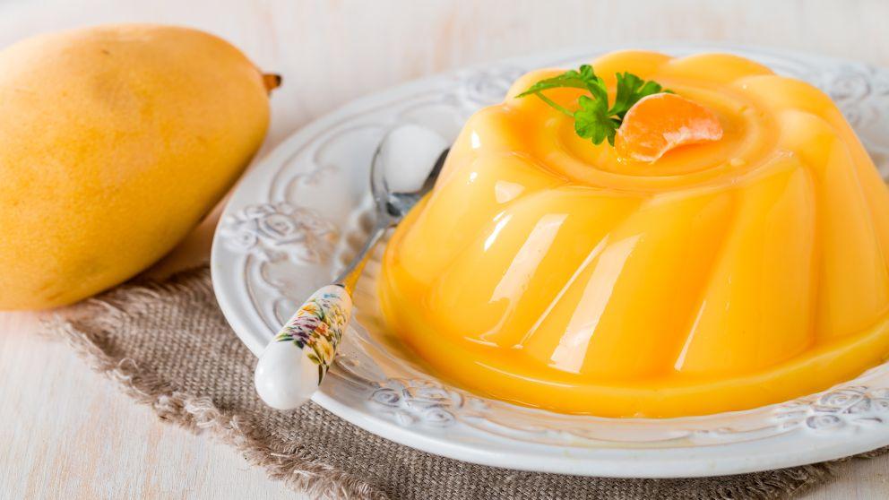 Mousse de Mango y Naranja