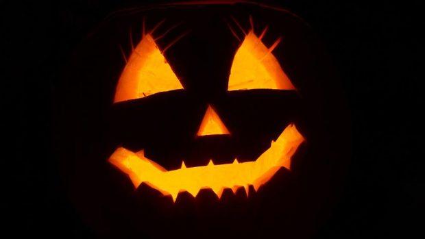 Pastel de miedo de Halloween
