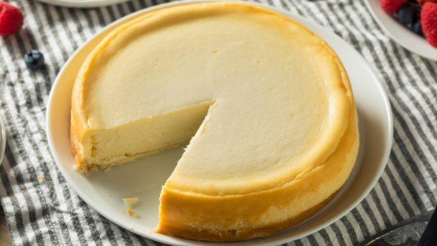 Tarta de leche condensada y queso crema