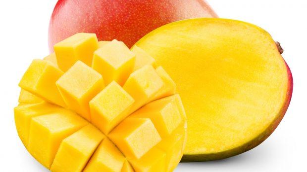 Receta de queso crema de coco y mango