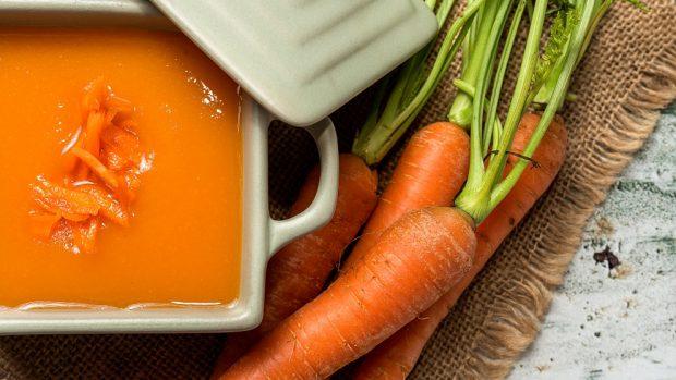 Receta de lasaña de zanahoria