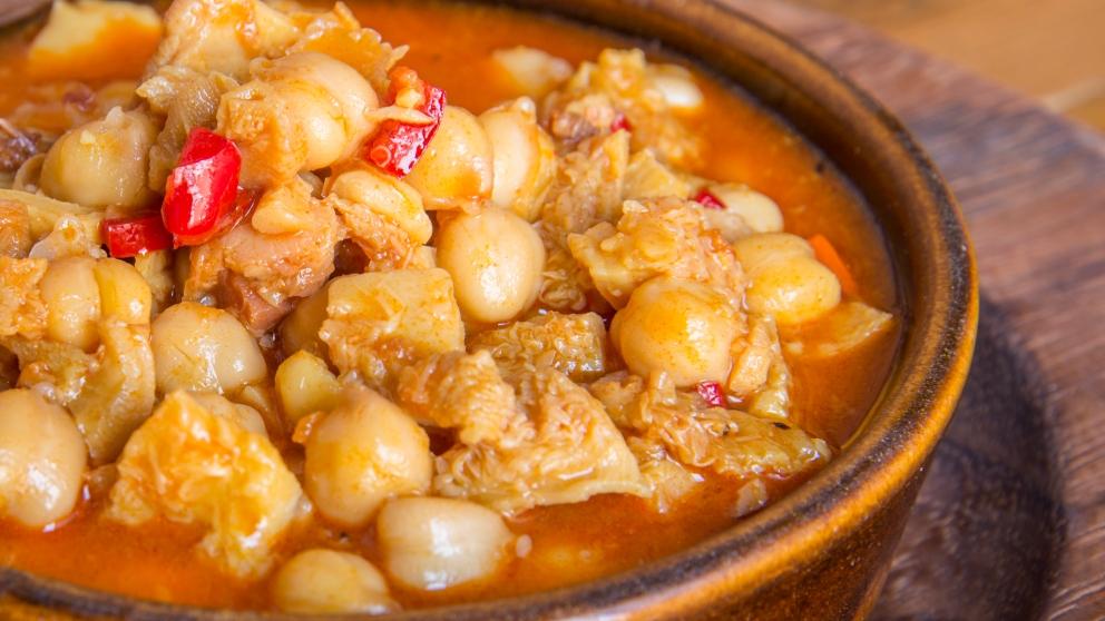 Photo of Receta de Garbanzos con pollo a la menta