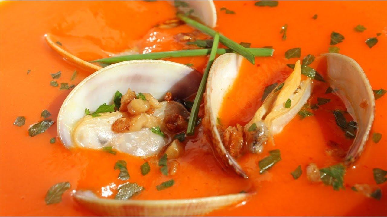 Photo of Receta de Almejas con salsa de pesto rojo