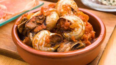 Photo of Receta de Caracoles con salsa de tomate