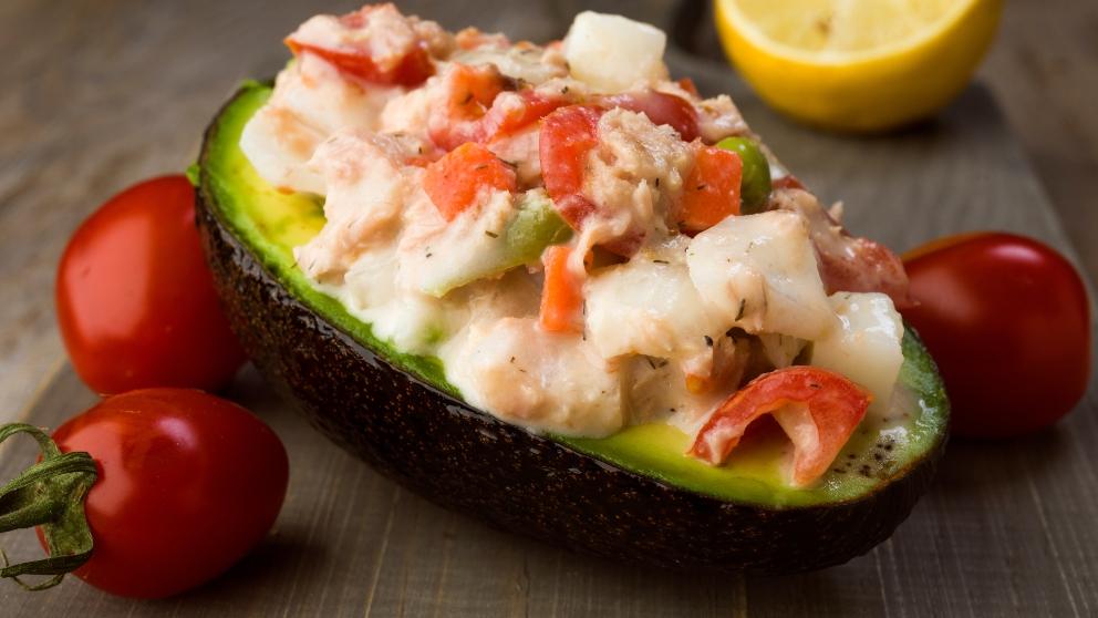 Photo of Receta de Cóctel de aguacate y cangrejo