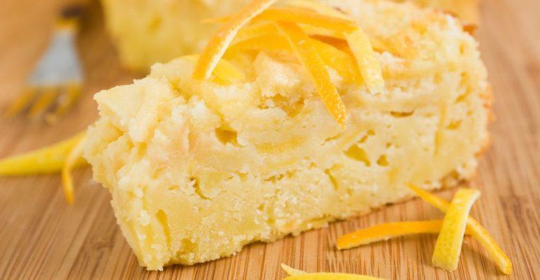 Receta de flan de manzana con pan de molde 1