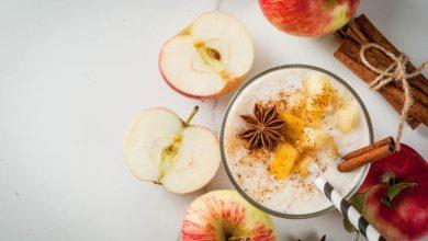 Photo of Receta de Manzanas caramelizas con yogurt