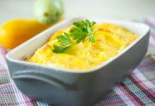 Photo of Receta de pastel de calabacín al horno con queso
