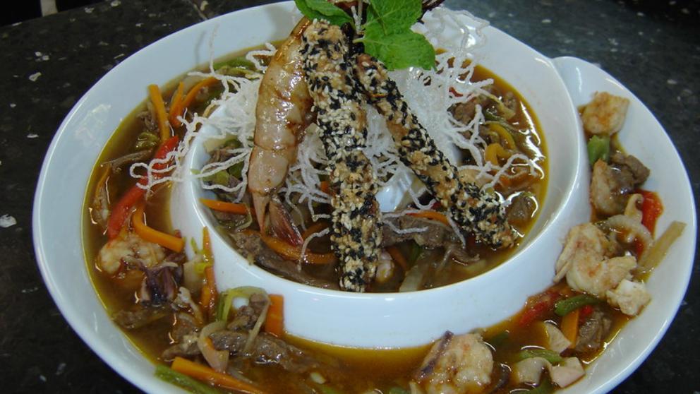 Photo of Receta de Sopa oriental vegana