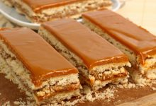 Photo of Receta de Tarta de galletas al caramelo